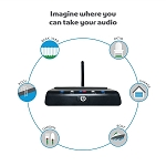 Miccus® Home TX Pro Long-Range Bluetooth Transmitter