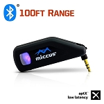 Miccus Swivel Jack RTX Bluetooth Transmitter/Receiver