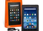 Kindle Fire Tablet 7 inch with Google Play Store & VoiceView 16GB with free OTG cable