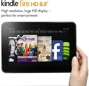 HD 8 Kindle Fire Tablet with Google Play Store & VoiceView 32GB