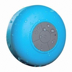Bluetooth Shower Speaker with Suction Cup!