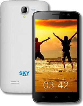 Sky Devices 5.0Q 8GB 3G/4G Android 4.4 Unlocked Smartphone (Black)