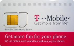T- Mobile SIM Card/ +1 Month of  Service